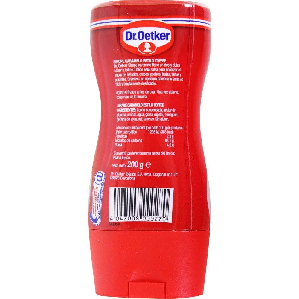 Topping De Caramelo Estilo Toffee Dr. Oetker 200 G: Amazon.es: Alimentación y bebidas