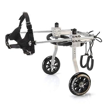 QRFDIAN Discapacitados en silla de ruedas para perros y gatos 瘫痪 silla de ruedas para mascotas