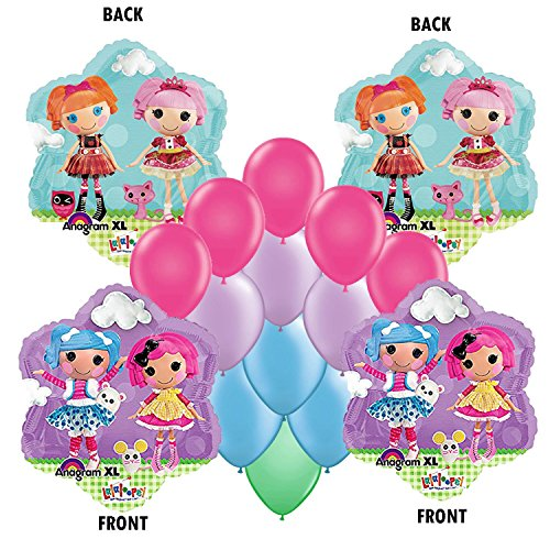 LalaLoopsy Party Balloon Bouquet 14 pc -