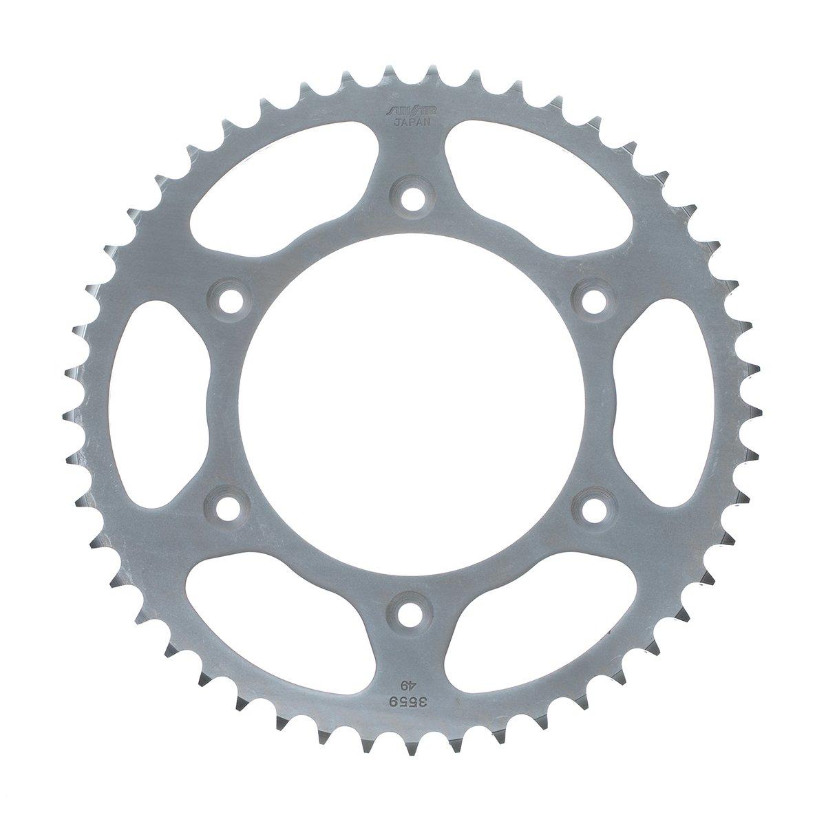 Sunstar 2-355951 51-Teeth 520 Chain Size Rear Steel Sprocket