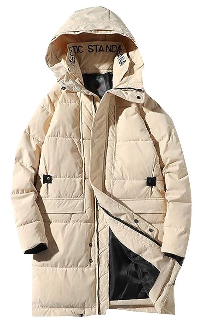 M/&S/&W Men Winter Thicken Warm Hooded Down Coat Jacket Outwear Long Parka Jacket