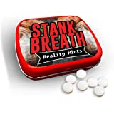 Stank Breath Mints – Funny Gag Gift for Teens Weird Gifts White Elephant Ideas Gifts for Guys Wintergreen Breath Mints Stocki