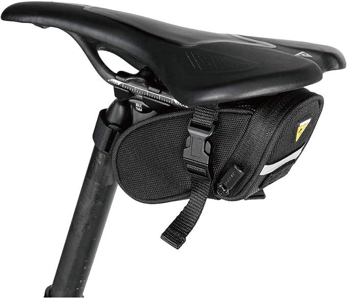 TOPEAK AERO WEDGE PACK Strap Micro Small Medium Fahrrad Satteltasche Klett *NEU*