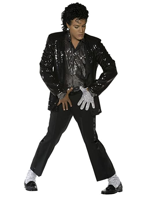 Smiffy  s Michael Jackson Billie Jean costume - large  Amazon.it ... 8e08b2b70ca1