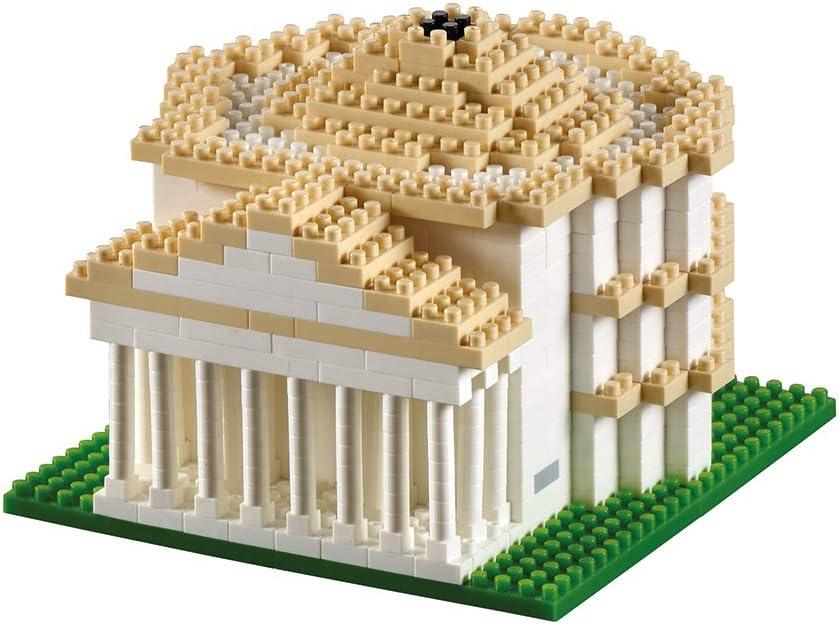 Multicolor 634/Piezas Brixies 410133/ /Pantheon Nivel de dificultad 4 3D de Puzzle Muy Pesado Italy Edition