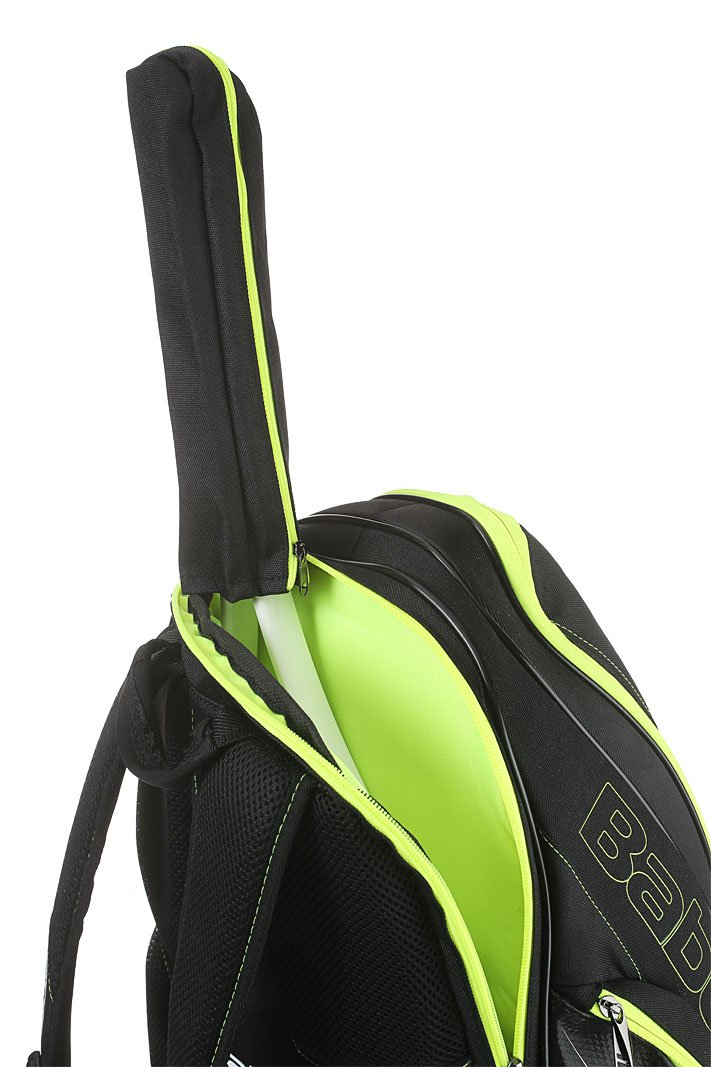 Babolat Pure Black/Fluo Yellow Backpack Bag by Babolat (Image #5)
