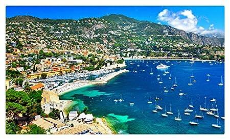 Francia casas Coast vela Niza ciudades muebles & decoración imán ...