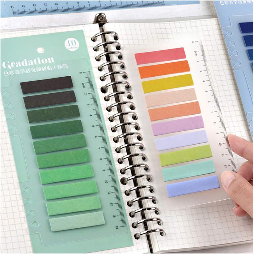 14 cm Multi-a. multicolore Sticky Notes indici Pennarelli adesivi segnalibro