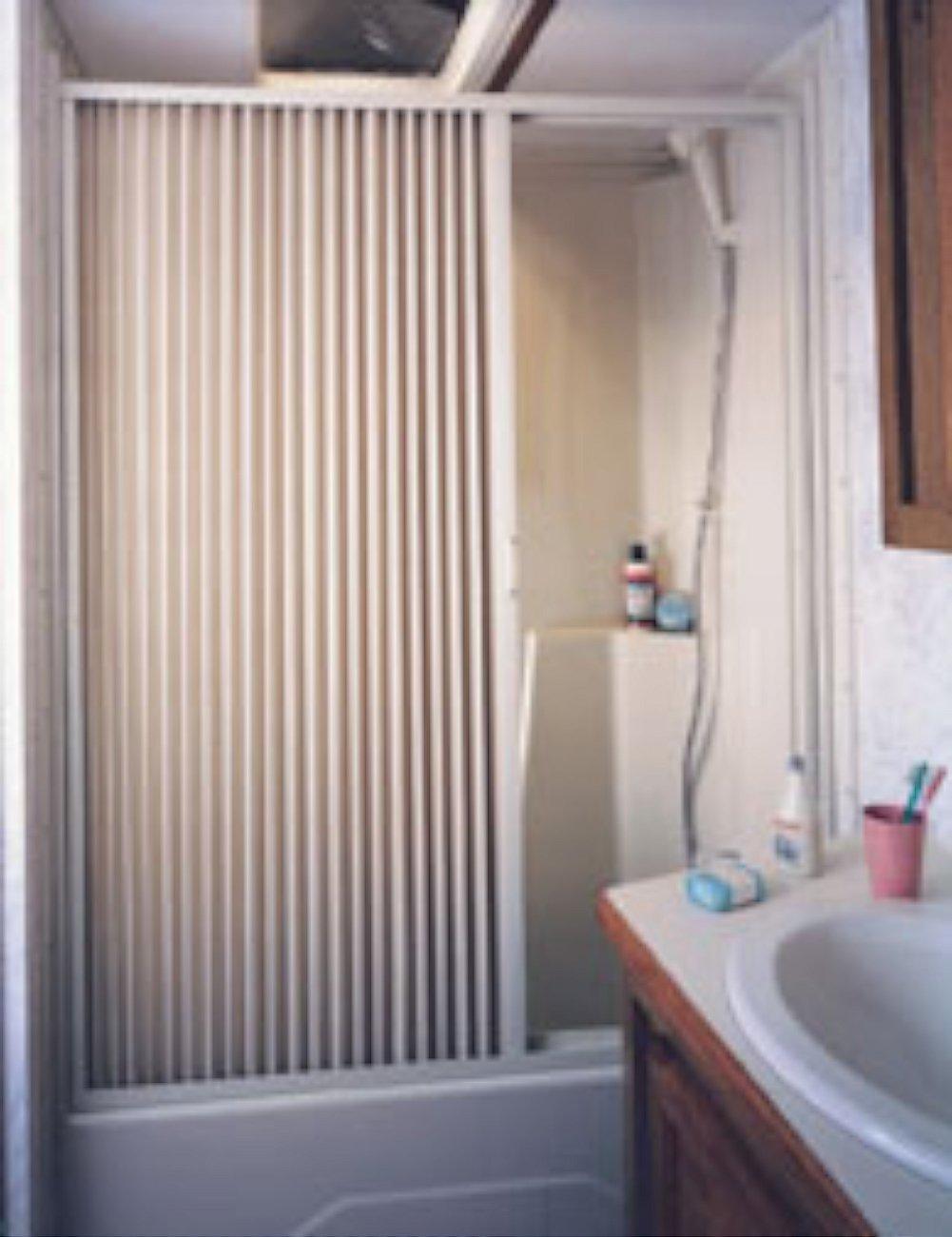 Concertina Shower Curtain Folding Plastic Shower Curtain Curtain Menzilperde Net Fold Away