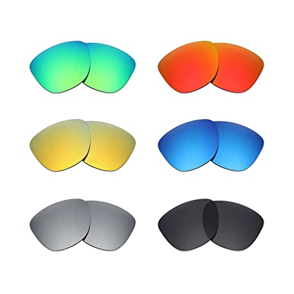 561cff190b6bf Image Unavailable. Image not available for. Color  Mryok 6 Pair Polarized  Replacement Lenses for Oakley Frogskins Sunglass ...