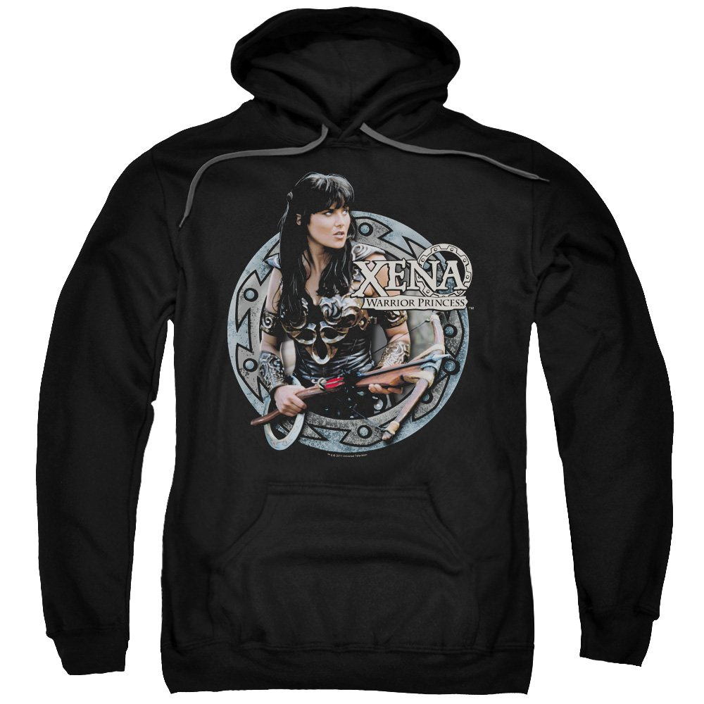 Xena Warrior Princess Action Tv Series The Warrior Adult Pull Over 2257 Shirts