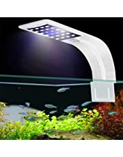 FOONEE Luces LED Ultra Finas de 10W para Acuarios, Clip Potente en Iluminación de Acuario