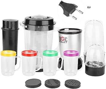 AUNMAS Mezclador Multiusos Exprimidor Exprimidor de Cocina Kit de procesador de Alimentos para Juice Milkshake Fruit Chopper Hogar Electrodomésticos de Cocina(1#): Amazon.es