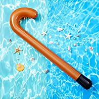 INFLATABLE WALKING STICK PARTY BLOW UPOLD PERSON FANCY DRESS PROPS DECORATION