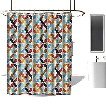 Amazon.com: Homehot cortinas de ducha para baño azul jardín ...