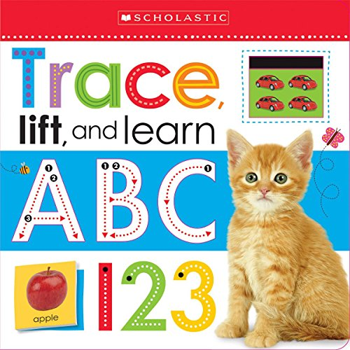 Trace, Lift, and Learn: ABC 123 (Scholastic Early Learners) ()