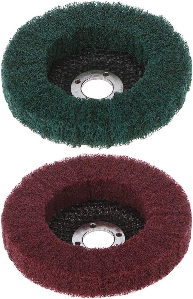 Werst Brosse rotative pour meulage en fibre de nylon