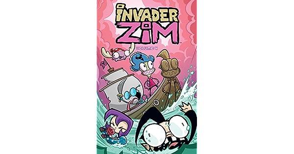 Amazon.com: Invader ZIM Vol. 4 (4) (9781620104286): Jhonen ...