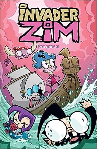 Invader Zim, Vol. 4: Amazon.es: Jhonen Vasquez, Eric ...