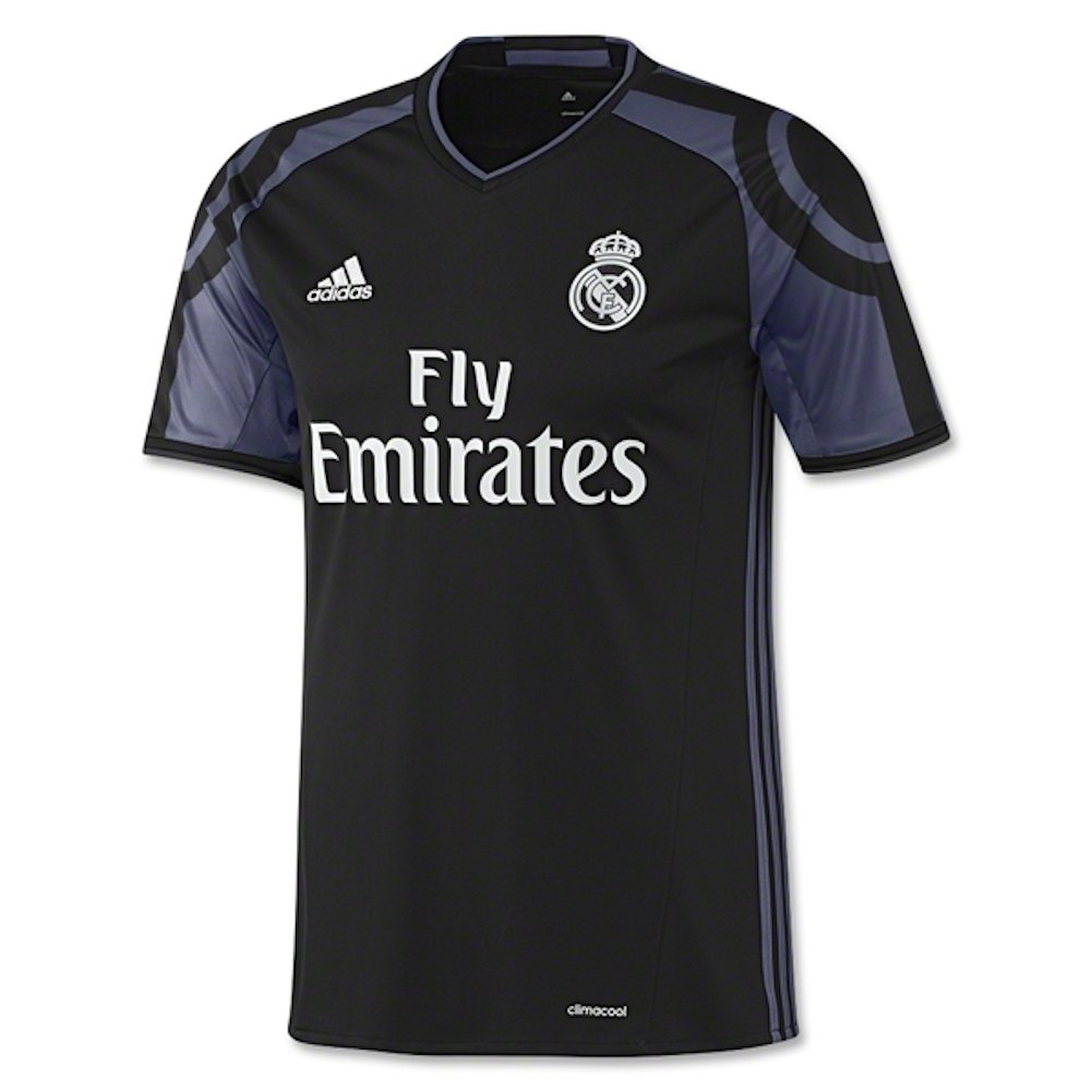 Adidas Mens Real Madrid Replica Soccer 3rd Jersey