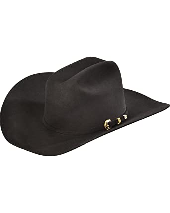 f3266c52596fc Serratelli Men s 10X Fur Felt Austin Cowboy Hat - 110Mkupdark at Amazon  Men s Clothing store