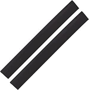 Range Kleen Pack of 2 698B Black Silicone Seam Counter Gap Covers 20.5 Inch Long by 2.25 Inch Wide