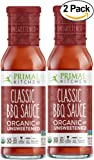 Primal Kitchen's Classic BBQ Sauce, Organic & Unsweetened, 8 oz, Pack of 2