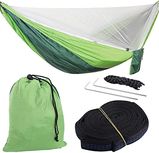 Travel Garden Camping Mesh Mosquito Net for Double Hammock Hanging Bed Swing