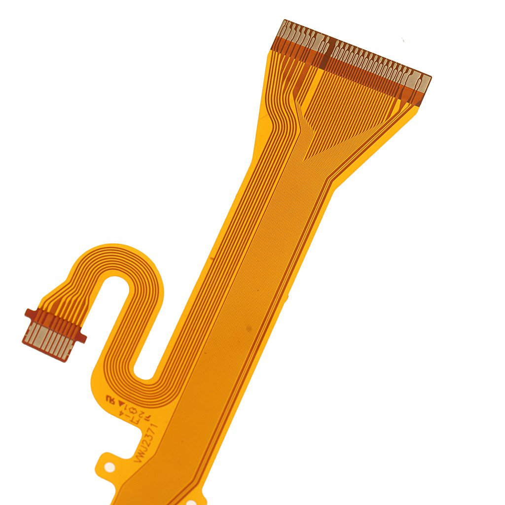 LCD Rotating Shaft Flex Cable Compatible with Panasonic DMC-GH3 DMC-GH4 Replacement