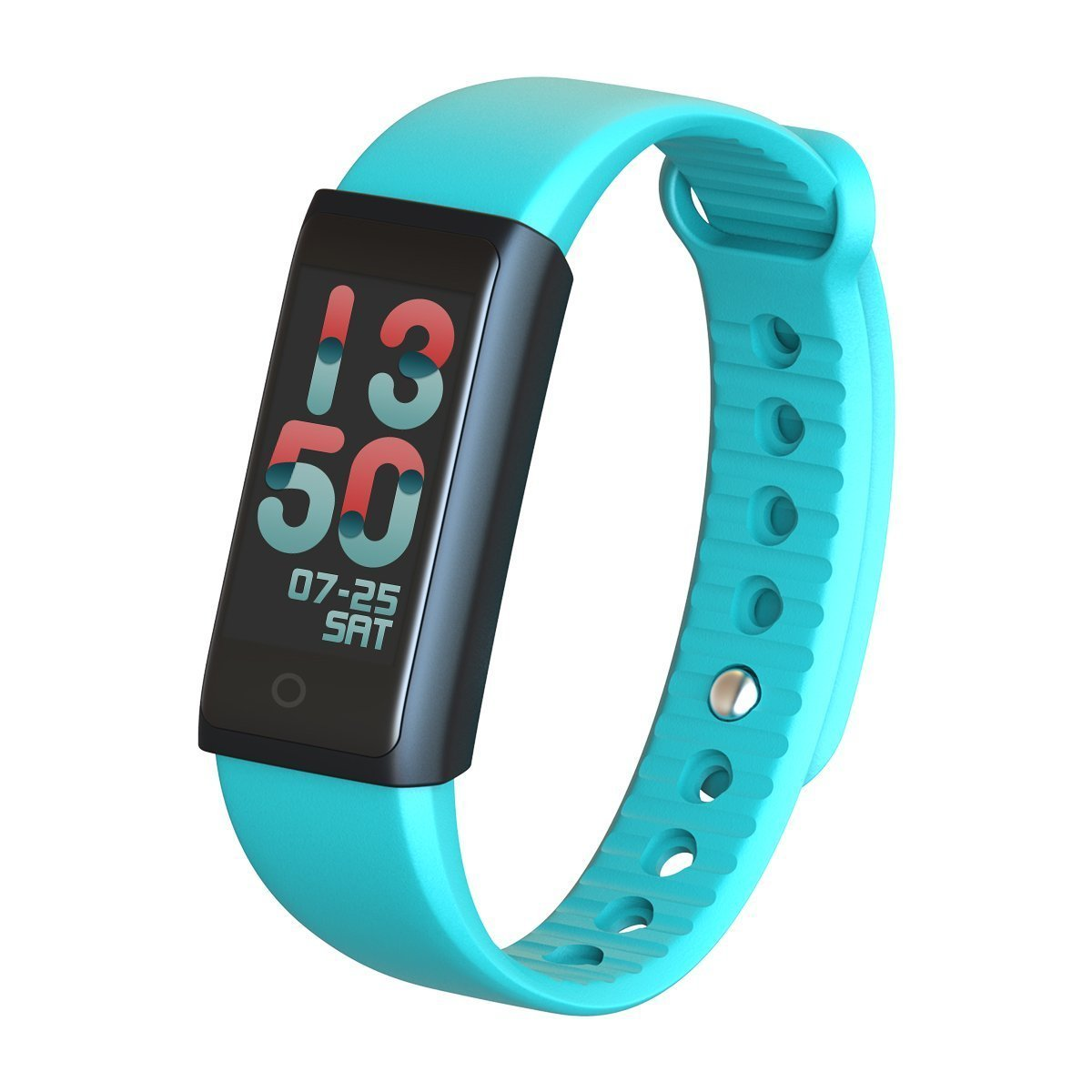 WOSUNG Fitness Tracker, Smart Heart Rate Monitor Bracelet Fitness Tracker with Blood Pressure Blood Oxygen Monitor, Bluetooth Pedometer Fitness Smart Bracelet Watch for IOS Android Smartphone (Green)