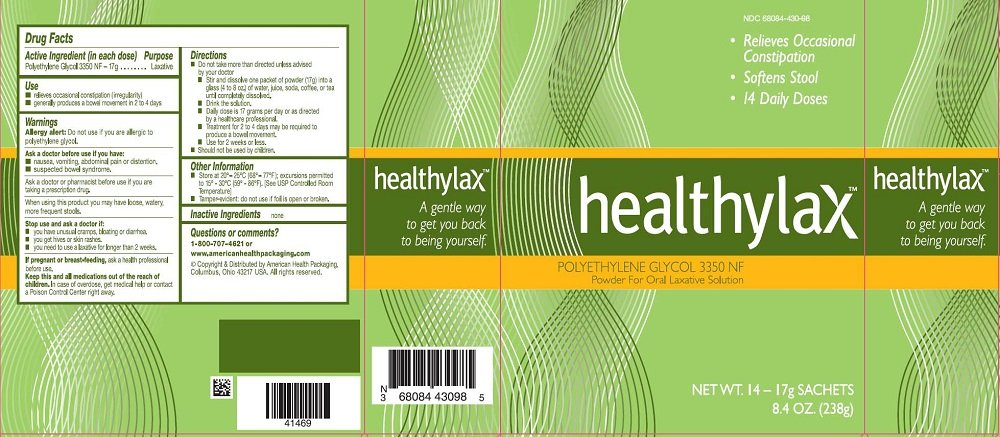 healthylax Powder Packets 14x17 gm (4 Pack)