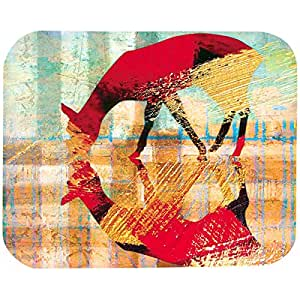 Animal Print 22 X 18 Cm Mouse Pad For Pc & Laptop, Multi Color