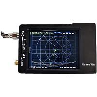 Odoukey Analizador de Antena Nanovna Analizador de 50k-900m, con la Caja de la batería Hf VHF