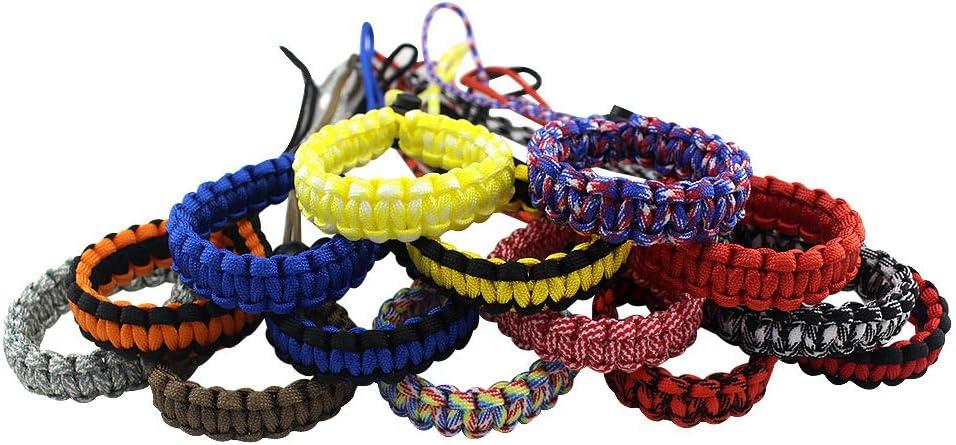 EKLOEN 2 Pack Paracord Adjustable Camera Wrist Strap Bracelet Camera Wrist Band