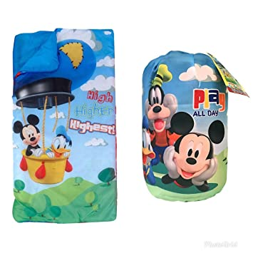 Disney Mickey Mouse Clubhouse niños saco de dormir y bolsa: Amazon.es: Hogar