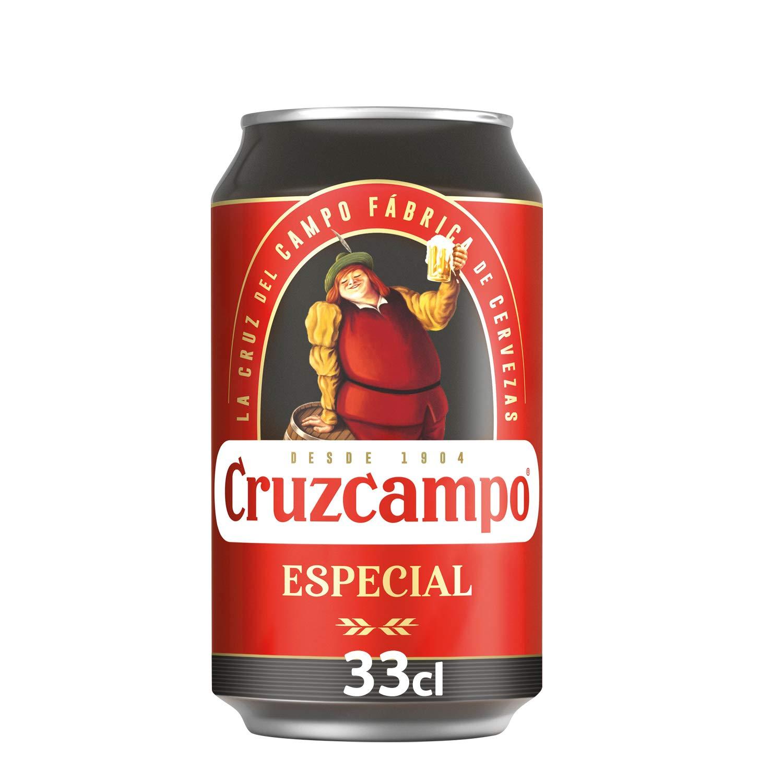 Cruzcampo Especial Cerveza Lata - 330 ml