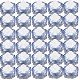 JYtrend Super Bright LED Floral Tea Light Submersible Lights for Party Wedding (White, 60 Pack)