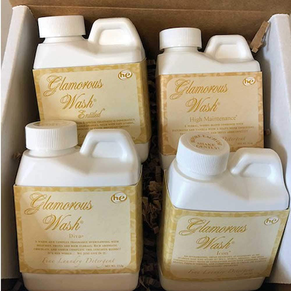 Tyler Candle Company 4 oz glamorous wash Gift Pack II
