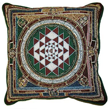 Sri Yantra Goddess Pillow