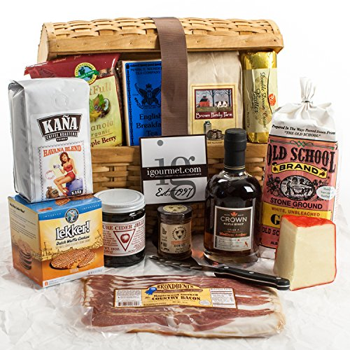 KaBloom Gift Basket Collection: Breakfast Lover's Ultimate Gourmet Breakfast Gift Chest