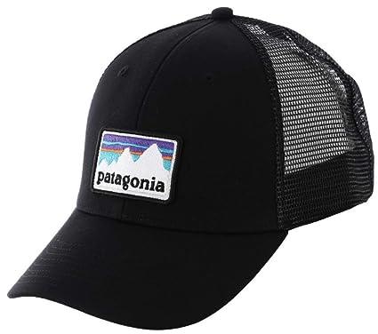 93964714b7dc4 Patagonia Unisex Shop Sticker Patch LoPro Trucker Hat Black Size One Size  (21)