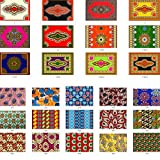 African Fabric Wax Material Print Cotton Super Real Java Nigerian Ankara for Sewing dress Clothing Designs For Fashion, Dresses, Top, Skirt, Jewelry, Shoes, Bags, Head Wraps 2 Yard=117cm165cm