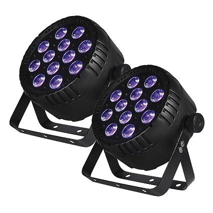 Amazon.com: Blizzard iluminación Lb Par Hex RGBAW + UV LED ...