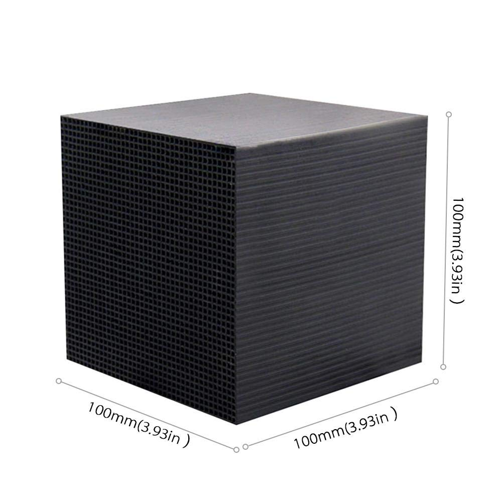 Rapid Water Purification Aquarium Cleaning Reusable Honeycomb Activated Carbon Water Cleaner Filter Roebii Fish Tank Filter,Eco-Aquarium Water Purifier Cubes,Fish Tank New Filtration Material