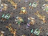 Black Legend of Zelda/ Link/ Majora's Mask Fabric Shopping Tote/ Market Bag