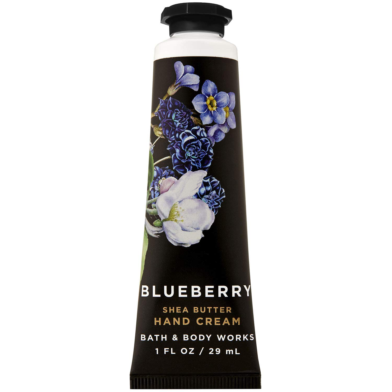 Bath and Body Works BLUEBERRY Shea Butter Hand Cream 1.0 Fluid Ounce (2019 Edition)