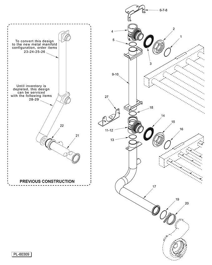 Amazon Com Hobart 00 948509 00002 Hobart Kit Manifold Center 634