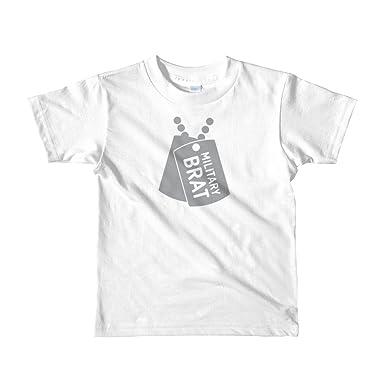 f15ec628 Amazon.com: Born in the USA Military Brat Kids Tee: Clothing