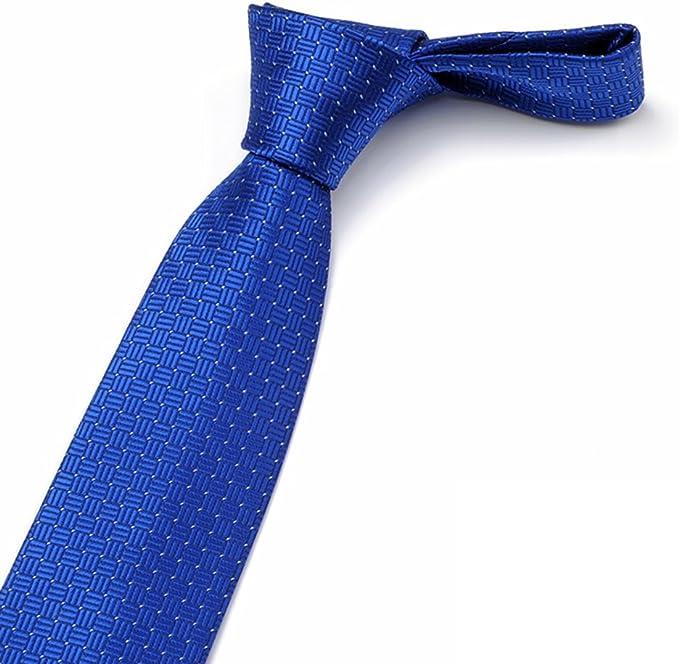 Mientras que la Raya Cuadros Color sólido Corbata corbata ...