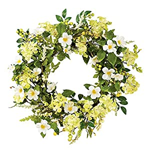Collections Etc Irish Greenery Spring Wreath 91